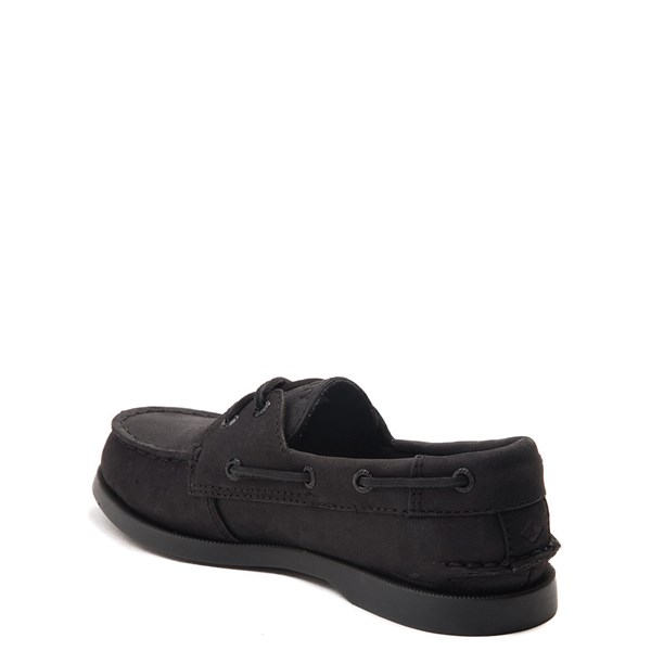 alternate view Sperry Top-Sider Authentic Original Boat Shoe - Little Kid / Big Kid - BlackALT2