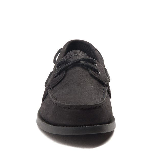 alternate view Sperry Top-Sider Authentic Original Boat Shoe - Little Kid / Big Kid - BlackALT4