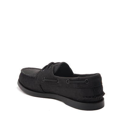 Alternate view of Sperry Top-Sider Authentic Original Boat Shoe - Little Kid / Big Kid - Black