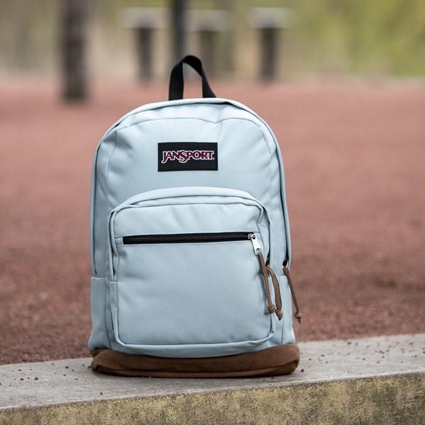 alternate view JanSport Right Pack Backpack - Light BlueALT1BB