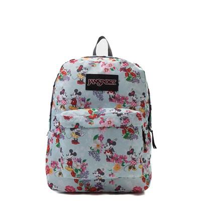Main view of JanSport Superbreak Blooming Minnie Backpack