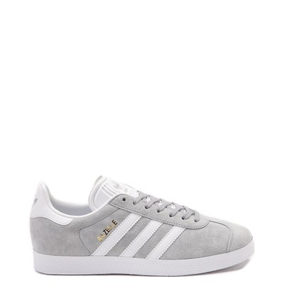 Main view of Womens adidas Gazelle Athletic Shoe - Gray