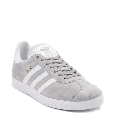 Alternate view of Womens adidas Gazelle Athletic Shoe - Gray