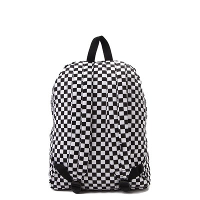 Alternate view of Vans Old Skool Checkerboard Backpack - Black / White