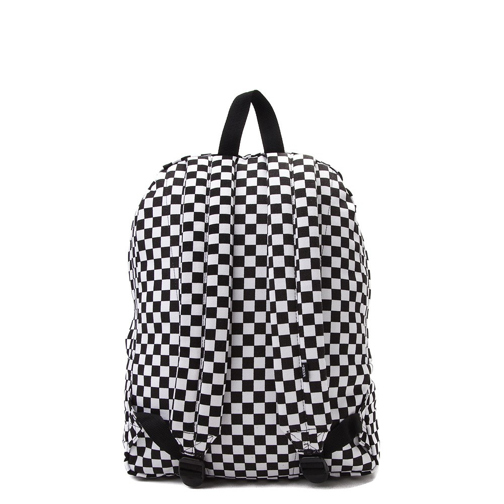 puoleen hintaan myynti vähittäiskauppias mahtavat hinnat Vans Old Skool Checkerboard Backpack - Black / White