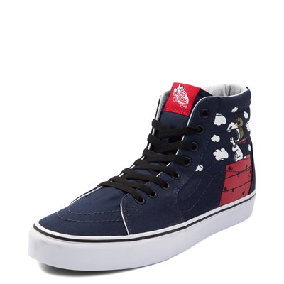Alternate view of Vans Sk8 Hi Peanuts Flying Ace Skate Shoe