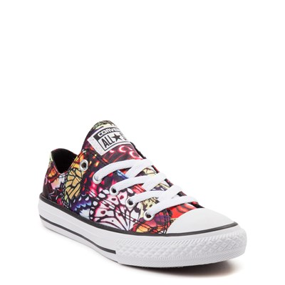 Alternate view of Youth Converse All Star Lo Butterflies Sneaker