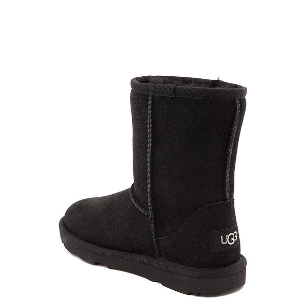 alternate view UGG® Classic II Boot - Little Kid / Big Kid - BlackALT2