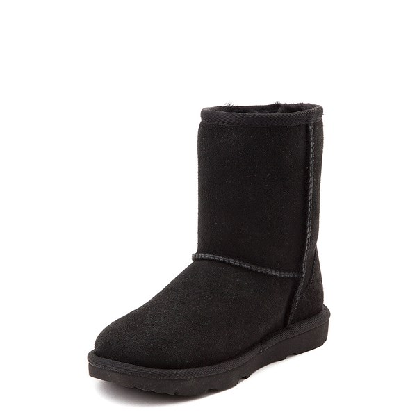 alternate view UGG® Classic II Boot - Little Kid / Big Kid - BlackALT3