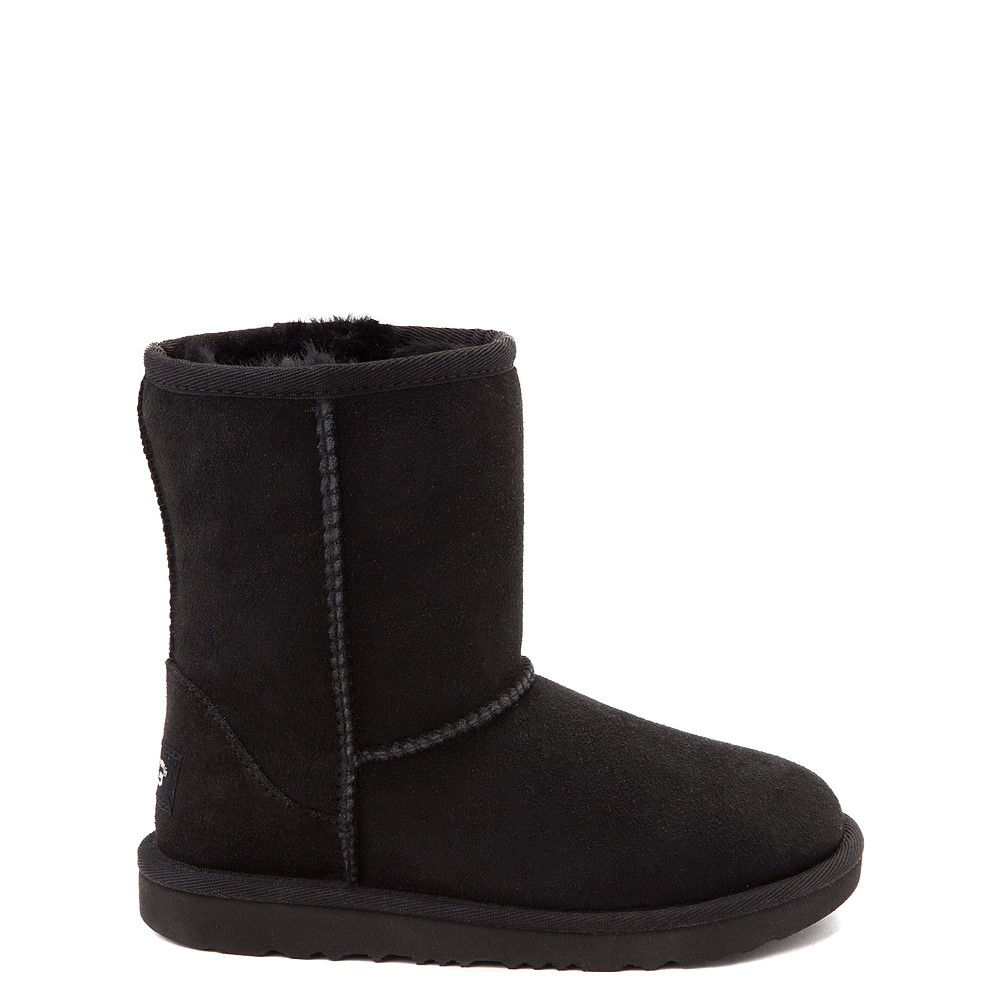 UGG® Classic II Boot - Little Kid / Big Kid - Black