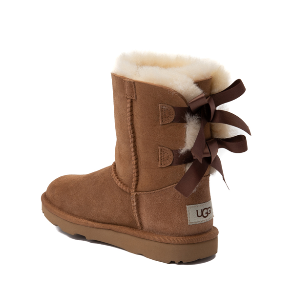 alternate view UGG® Bailey Bow II Boot - Little Kid / Big Kid - ChestnutALT1