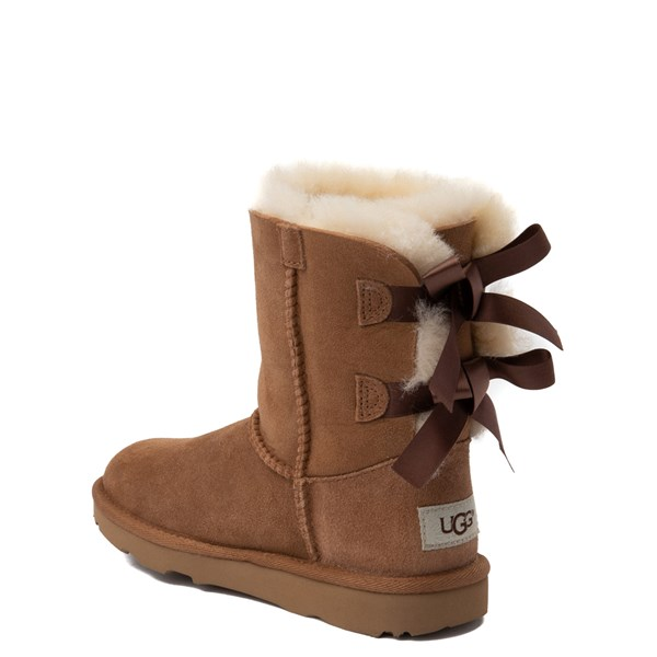 alternate view UGG® Bailey Bow II Boot - Little Kid / Big Kid - ChestnutALT2