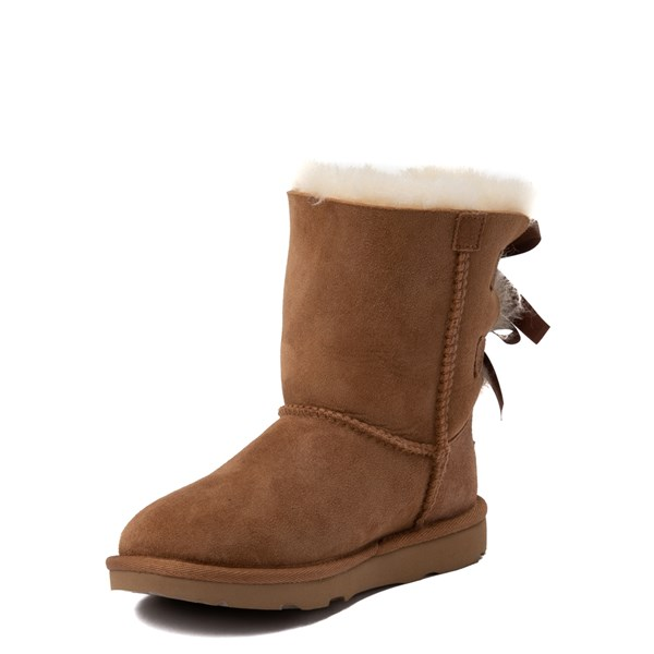 alternate view UGG® Bailey Bow II Boot - Little Kid / Big Kid - ChestnutALT3