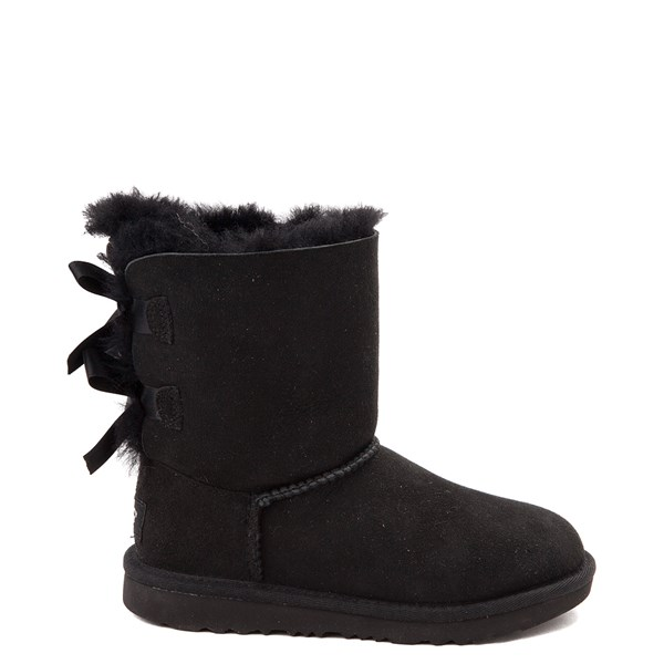 Default view of UGG® Bailey Bow II Boot - Little Kid / Big Kid - Black