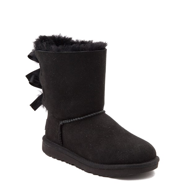 Alternate view of UGG® Bailey Bow II Boot - Little Kid / Big Kid - Black