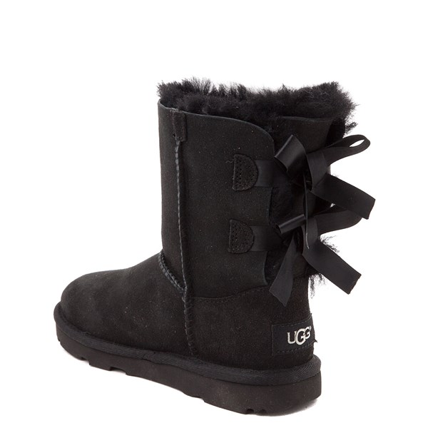 alternate view UGG® Bailey Bow II Boot - Little Kid / Big Kid - BlackALT2