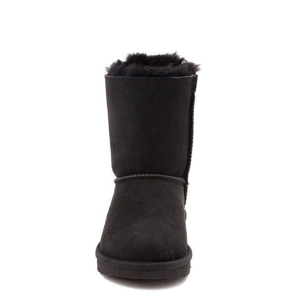 alternate view UGG® Bailey Bow II Boot - Little Kid / Big Kid - BlackALT4