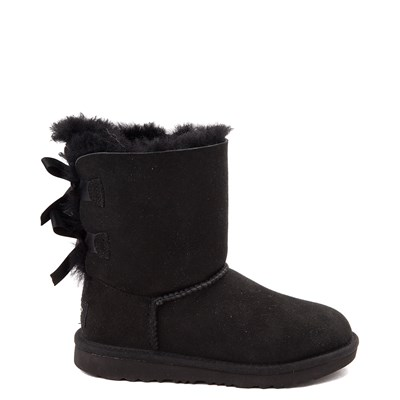 Main view of UGG® Bailey Bow II Boot - Little Kid / Big Kid - Black
