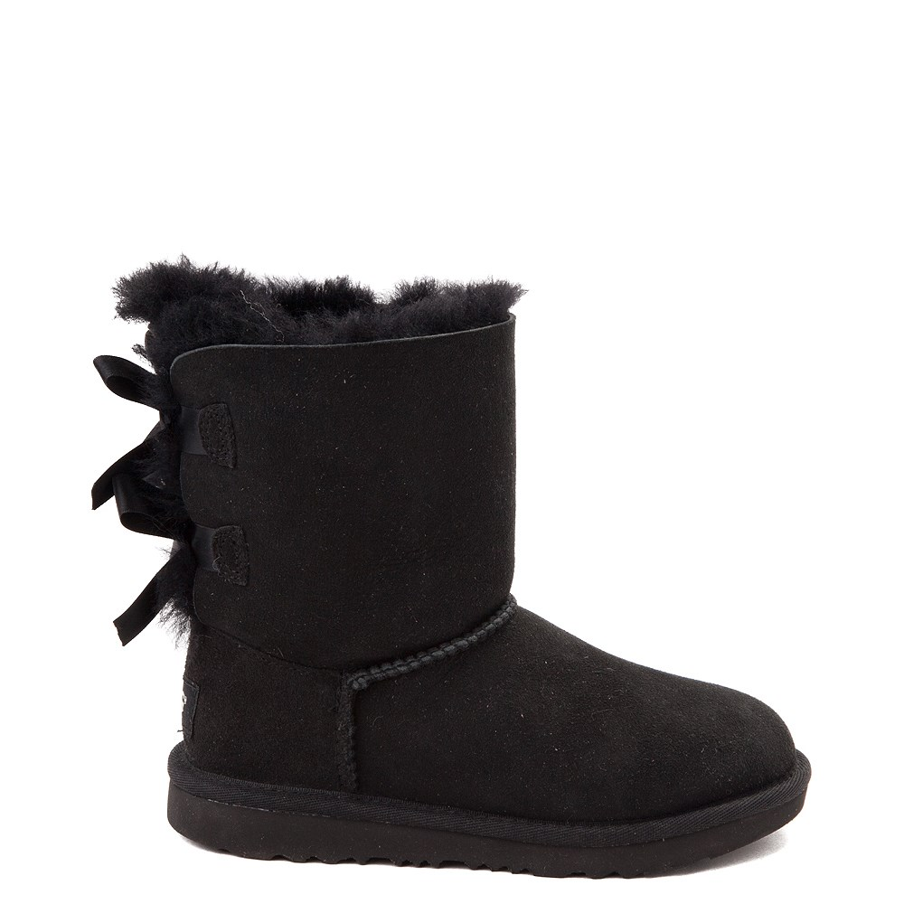 UGG® Bailey Bow II Boot - Little Kid / Big Kid - Black