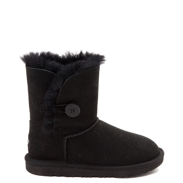 Main view of UGG® Bailey Button II Boot - Little Kid / Big Kid - Black