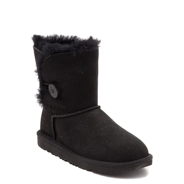 alternate view UGG® Bailey Button II Boot - Little Kid / Big Kid - BlackALT5