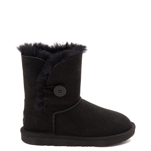 Default view of UGG® Bailey Button II Boot - Little Kid / Big Kid - Black
