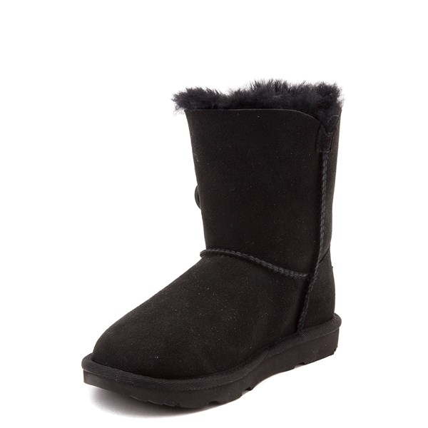 alternate view UGG® Bailey Button II Boot - Little Kid / Big Kid - BlackALT3
