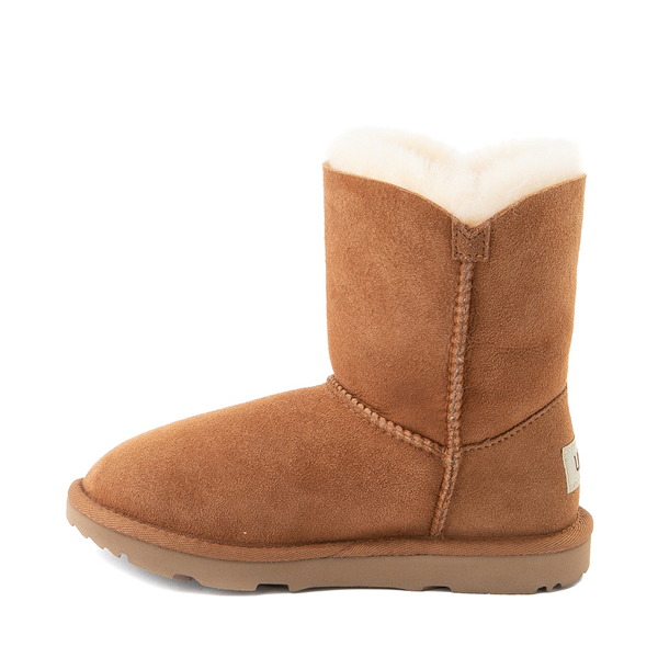 alternate view UGG® Bailey Button II Boot - Little Kid / Big Kid - ChestnutALT1
