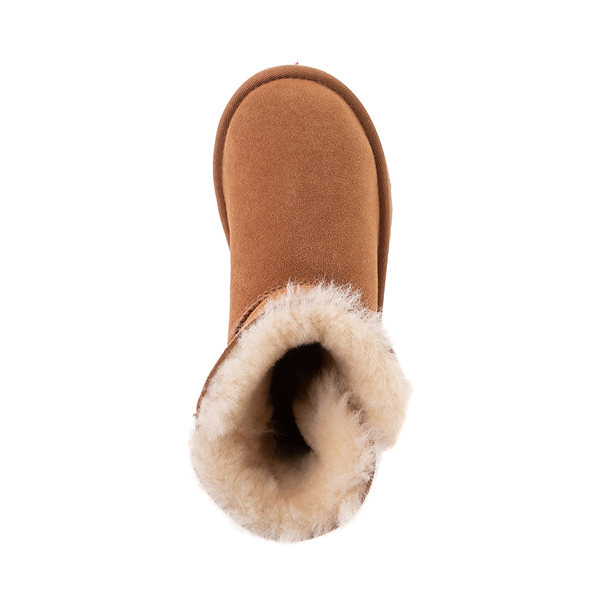 alternate view UGG® Bailey Button II Boot - Little Kid / Big Kid - ChestnutALT2