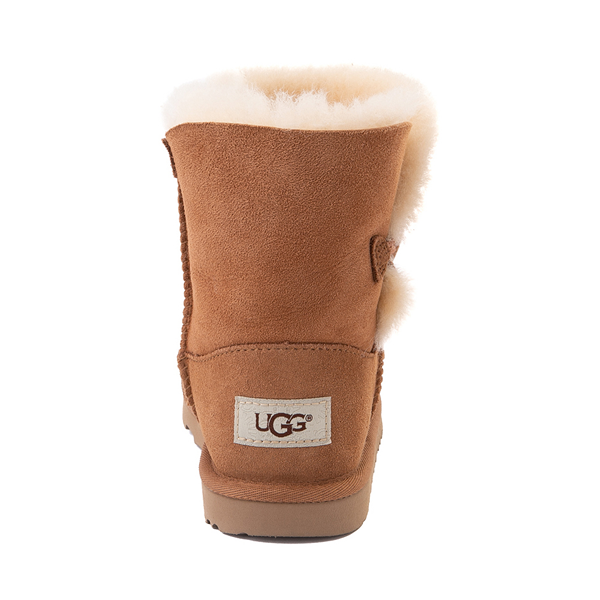 alternate view UGG® Bailey Button II Boot - Little Kid / Big Kid - ChestnutALT4