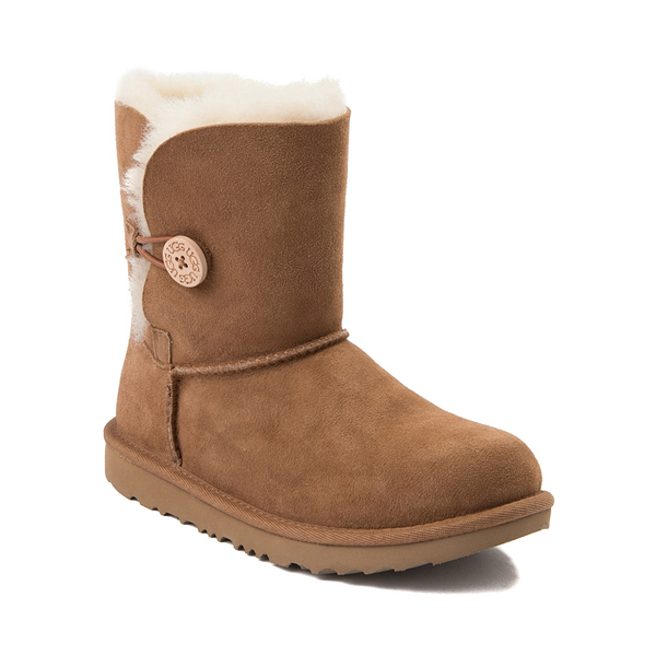 alternate view UGG® Bailey Button II Boot - Little Kid / Big Kid - ChestnutALT5