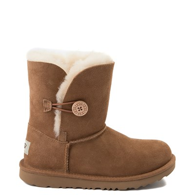Main view of UGG® Bailey Button II Boot - Little Kid / Big Kid - Chestnut