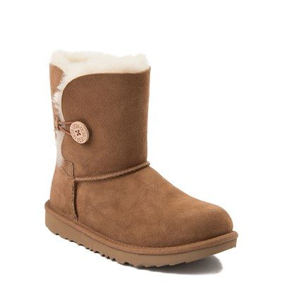 Alternate view of UGG® Bailey Button II Boot - Little Kid / Big Kid - Chestnut