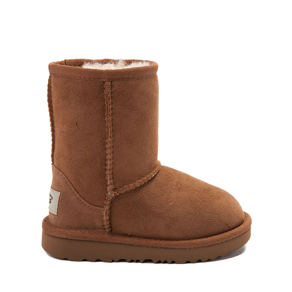 Main view of UGG® Classic Short II Boot - Toddler / Little Kid - Chestnut