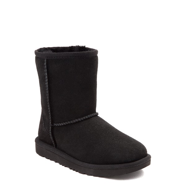 alternate view UGG® Classic Short II Boot - Toddler / Little Kid - BlackALT1