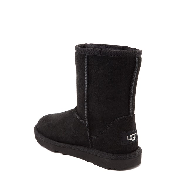 alternate view UGG® Classic Short II Boot - Toddler / Little Kid - BlackALT2