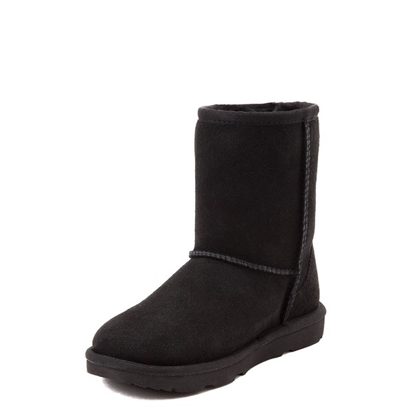 alternate view UGG® Classic Short II Boot - Toddler / Little Kid - BlackALT3