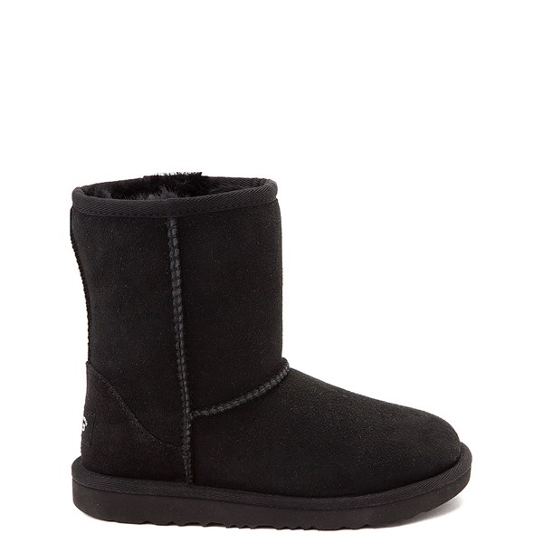 UGG® Classic Short II Boot - Toddler / Little Kid - Black
