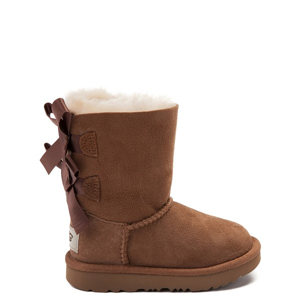 Main view of UGG® Bailey Bow II Boot - Toddler / Little Kid - Chestnut