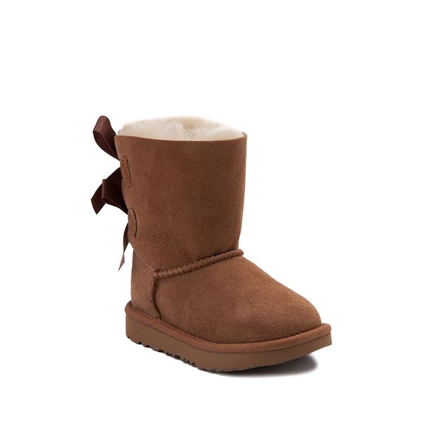 alternate view UGG® Bailey Bow II Boot - Toddler / Little Kid - ChestnutALT5