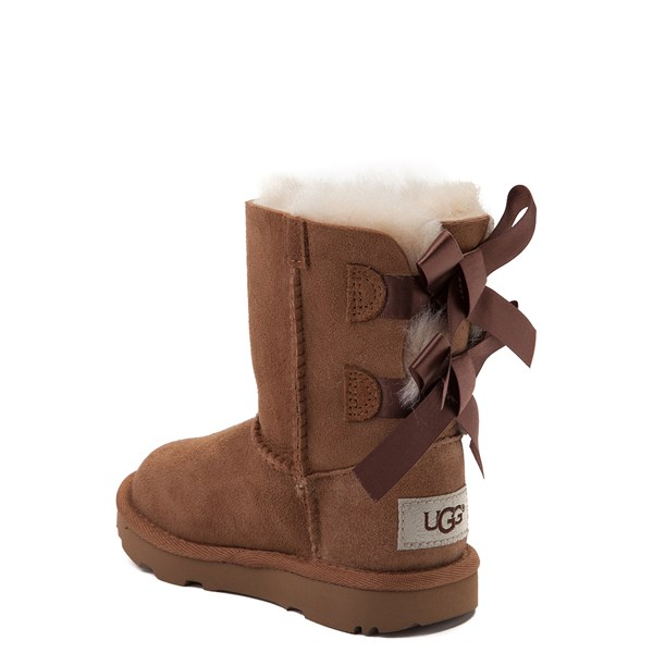 alternate view UGG® Bailey Bow II Boot - Toddler / Little Kid - ChestnutALT2