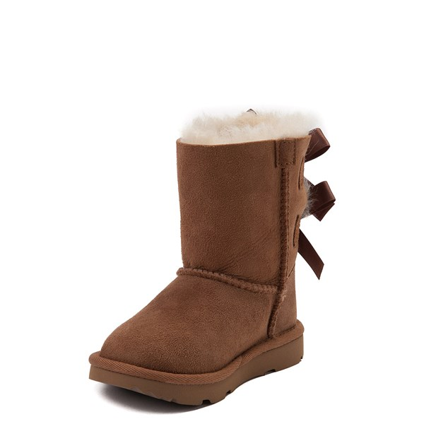 alternate view UGG® Bailey Bow II Boot - Toddler / Little Kid - ChestnutALT3