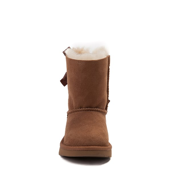alternate view UGG® Bailey Bow II Boot - Toddler / Little Kid - ChestnutALT4