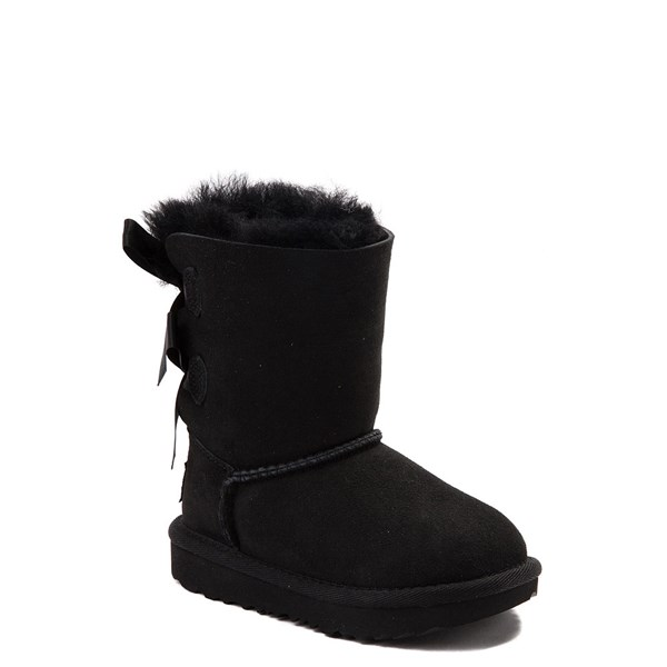 Alternate view of UGG® Bailey Bow II Boot - Toddler / Little Kid - Black