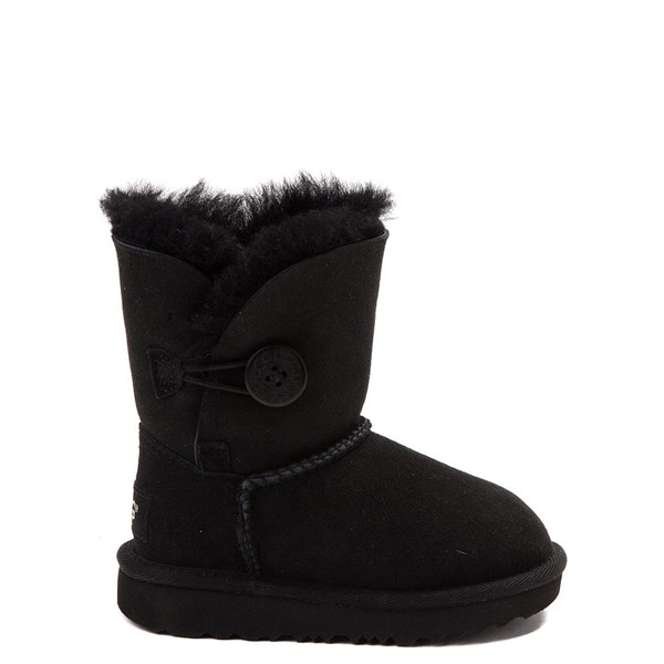 Default view of UGG® Bailey Button II Boot - Toddler / Little Kid - Black