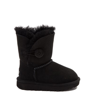 Main view of UGG® Bailey Button II Boot - Toddler / Little Kid - Black