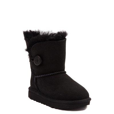 Alternate view of UGG® Bailey Button II Boot - Toddler / Little Kid - Black