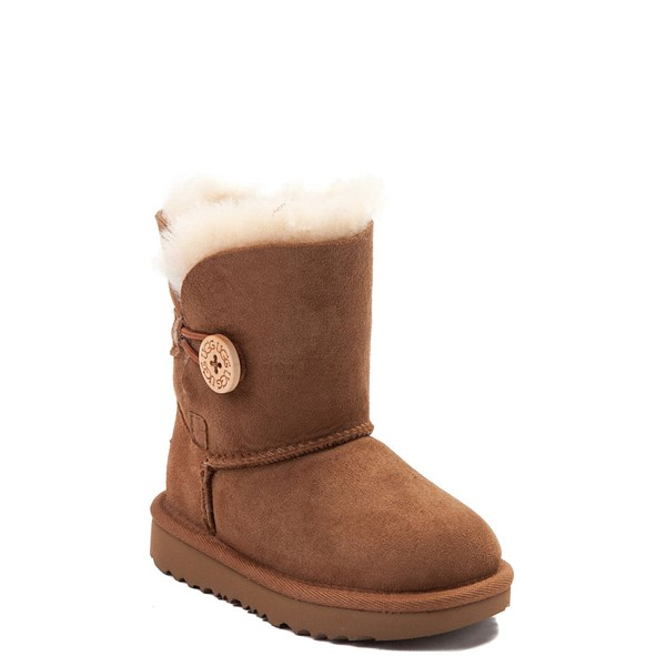 Alternate view of UGG® Bailey Button II Boot - Toddler / Little Kid