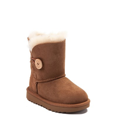 Alternate view of UGG® Bailey Button II Boot - Toddler / Little Kid - Chestnut