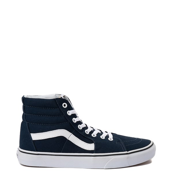 Main view of Vans Sk8 Hi Skate Shoe - Dress Blues